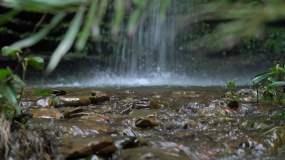 15段山间山泉矿泉水清泉水高清4K视频视频素材