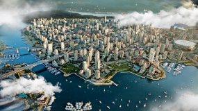 【原创】云穿梭俯冲城市AE模板