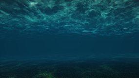 海底穿梭水下视频素材