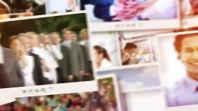 图文电子相册清新时尚的电子相册展示AE模板