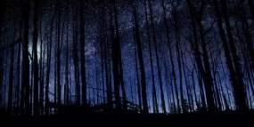 实拍迷人璀璨宇宙星空星辰视频素材