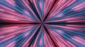 激光线变换视频素材