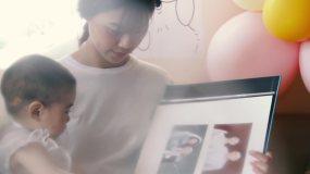 宝宝和妈妈视频素材