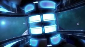 原创UFO宇宙飞船5G科技片头AE模板