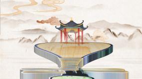 中国水墨传承文化片头AE模板