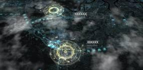 广西区位地图AE模板