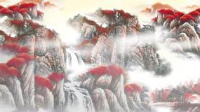 水墨山水江山如此多娇视频素材视频素材