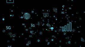 5G科技-无缝循环带透明通道视频素材