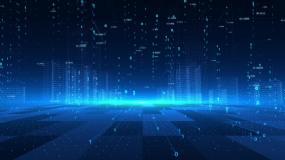 大数据云计算互联网数字科幻全息城市视频素材