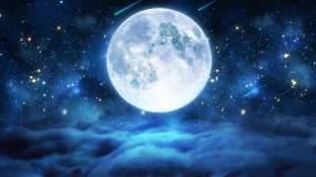 星空月夜【4K分辨率循环】视频素材