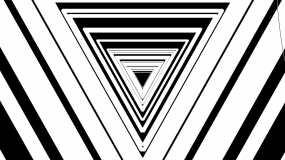 黑白电子节奏线条图形变化vj串烧视频素材