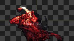 岩浆27号(有Alpha通道)视频素材包