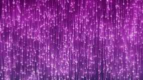 粉红色心形粒子背景视频素材