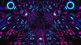 抽象隧道1视频素材