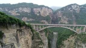 四川泸州渡改桥16鸡鸣三省大桥视频素材