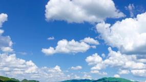 【67秒】4K延时唯美天空蓝天白云视频素材