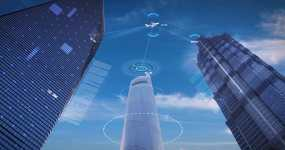 【4K】原创科技智慧城市视频素材
