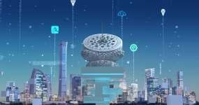 【4K】5G科技智慧大数据城市视频素材