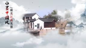 edius简约中国风美景展示EDIUS模板