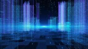 3D科幻全息智慧城市高楼穿梭ae模板AE模板