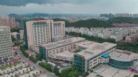 【原创4K】咸宁市中心医院视频素材