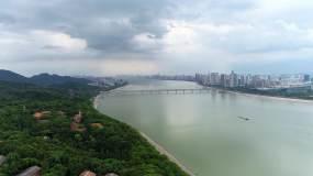 杭州钱塘江大桥六和塔【4K】视频素材