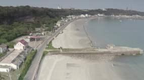 广西航拍北海航拍涠洲岛航拍海边岛屿航拍蓝视频素材