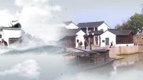 pr简约中国风美景展示Pr模板