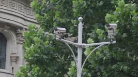 路口摄像头视频素材