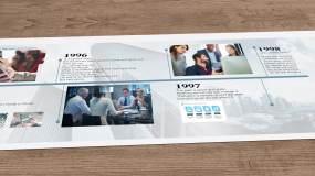 企业时间线AE模板