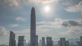 深圳平安大厦延时、日转夜延时4K画质视频素材