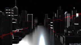 智慧城市科技片头AE模板