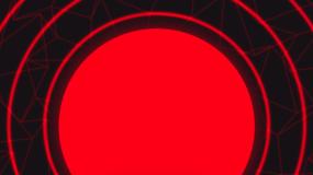 大气红色版三人版无人gogo秀舞蹈背景视频素材