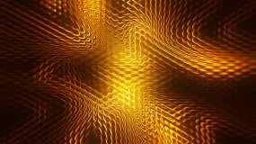 金色波浪背景视频素材