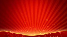 4K红色条纹舞台背景循环视频素材