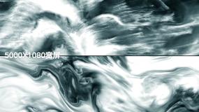 水墨艺术超宽屏弧幕投影视频素材