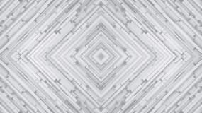 白色几何图形网络背景视频素材
