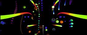霓虹灯动感节奏vj视频素材