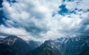 云南雪山高原风景视频素材