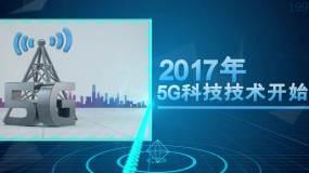 5G科技发展历程时间线AE模板AE模板