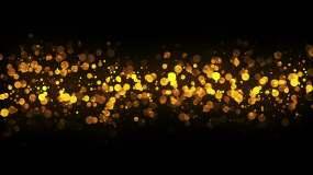梦幻粒子光晕led背景视频素材