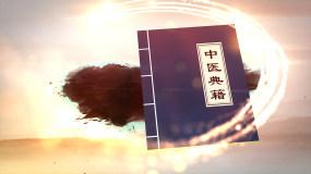 原创大气中国风健康养生中医片头AE模板AE模板