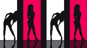 《attention》美女影子舞视频素材