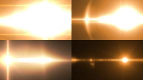 原创4K金色转场光效8款视频素材包