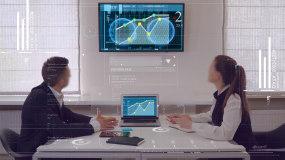 商务科技办公会议AE模板