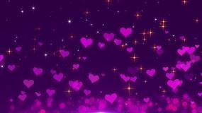 4K浪漫紫色背景-13循环视频素材