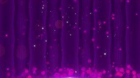 4K浪漫紫色背景-10循环视频素材