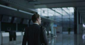 机场国际商务人/虹桥机场大厅/4K高清视频素材