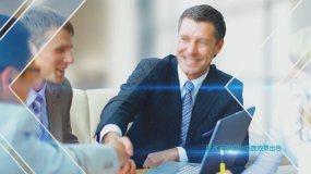 edius蓝色科技商务企业宣传相册模板EDIUS模板