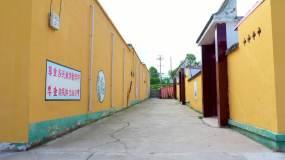 美丽乡村西北农村村容村貌视频素材
